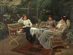 Tea in the Conservatory