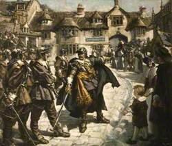 The Escape from Bridport, Dorset, of Charles II after the Battle of Worcester, September 1651