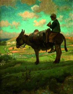 Donkey-Boy on Blackhill, Cerne Abbas, Dorset