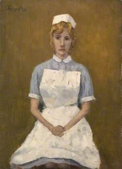 Caroline Bowen in Nurse's Uniform