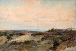 Landscape with Heath and Sea