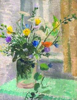 Still Life, Vase of Flowers