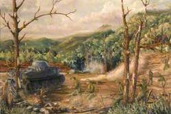 The Battle for the District Commissioners' Bungalow, Kohima Ridge, India, 13 May 1944