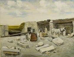George Burt's Quarry Mine in Swanage, Dorset, 1895