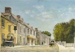 Langton Matravers Village Street, Dorset, 1905