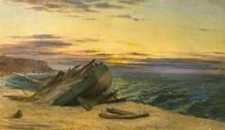 A Wreck on a Beach