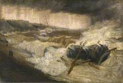 The Wreck of the 'Patria', with the 'Emma Maria', 26 October 1903