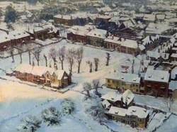 A Frosty Morning, Salisbury, Wiltshire