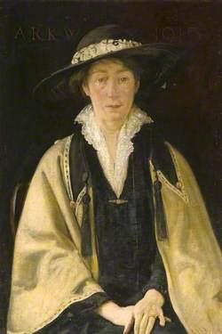 Annie Rosina Katie Wise, the Artist's Wife