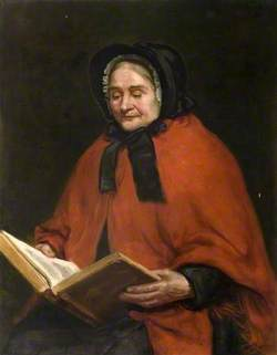 Portrait of a Female Almshouse Resident Reading