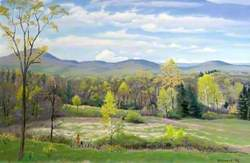A View in Shaftsbury, Vermont, USA