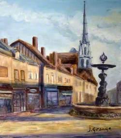 Les peintres du dimanche, XXème anniversaire du jumelage Conches-Wareham