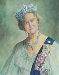 The Speaking Eyes of Queen Elizabeth, the Queen Mother