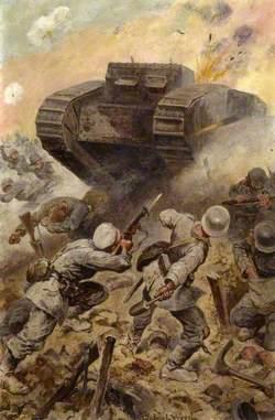 A Tank Attack, 1916
