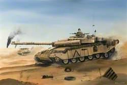 Challenger in the Desert