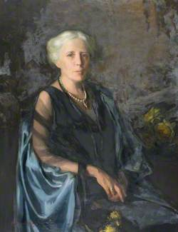 The Lady in the Blue Cloak (Mrs Maitland Ramsay, née Elizabeth Margaret Pace)