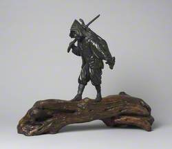 Figure of a Hunter
