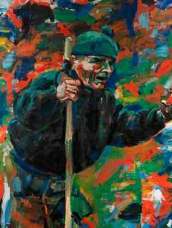 Uphill, Portrait of Syd Scroggie (1919–2006)