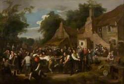 The Village Ba' Game