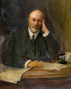 John Mitchell (1860–1923), Editor of 'The Courier'
