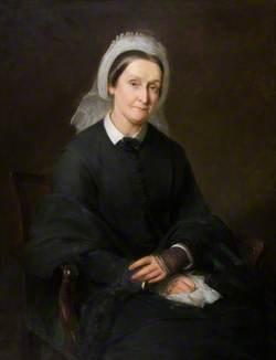 Mrs Molison, née Elizabeth Baxter (1801–1888), Wife of Francis Molison