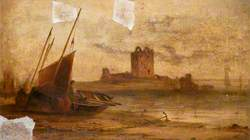 Broughty Castle in 1861