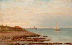 Broughty Castle, from the Stannergate