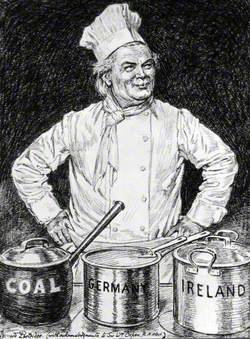 The Chef (Caricature of Lloyd George)