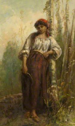 A Woodcutter of the Basque Provinces