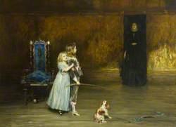 Scene from Walter Scott's Novel 'Peveril of the Peak'