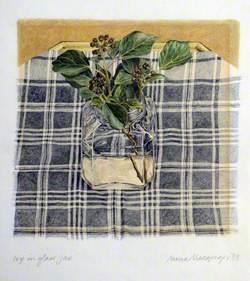 Ivy in Glass Jar