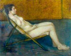 Nude on a Deckchair