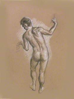 Figure Study for 'The Death of Actaeon'