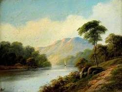 Country Scene with River