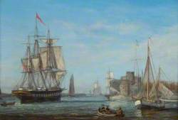 Ships in a Small Anchorage