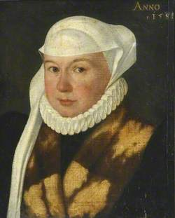 Portrait of a Lady in Brown