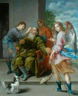 Tobias Restoring His Father's Sight