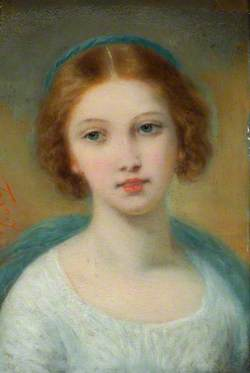 Head of a Young Girl