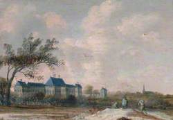 Landscape with Rijswijk Castle, Holland