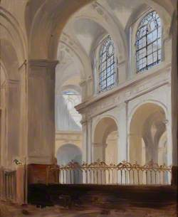 Interior of the Church of St Roch, Paris