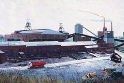 Fishburn Colliery, County Durham and Part of By-Product Plant