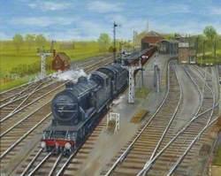Barnard Castle Station, County Durham