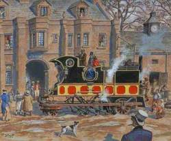 David Gordon's Steam Coach, 1830