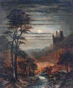 Moonlit Castle