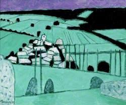 French Landscape II