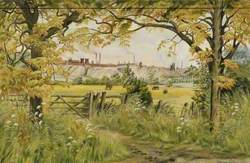 Landscape with Consett Steel Works*