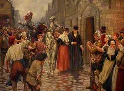 Queen Mary Brought Captive to Edinburgh from Carberry Hill, 1567