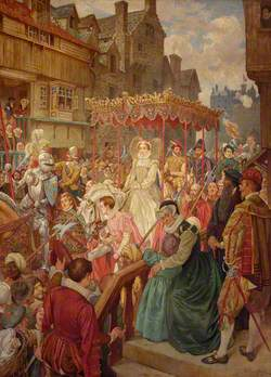 The State Entry of Queen Mary into Edinburgh, 1561