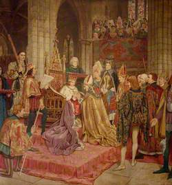 The Coronation of King James II at Holyrood, 1437