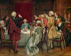 Prince Charles Edward Stuart in Edinburgh, 1745